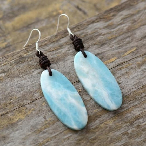 Amazonite Drop Earrings