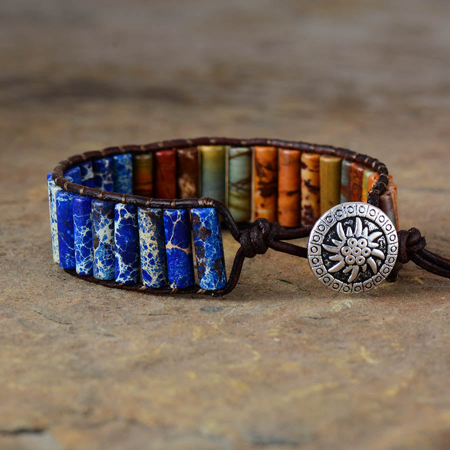 Men's Warrior Jasper Bracelet
