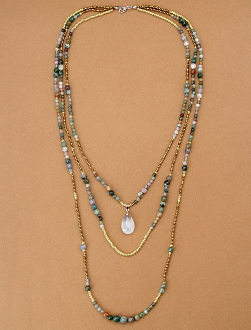 Native 3 Layered Necklace