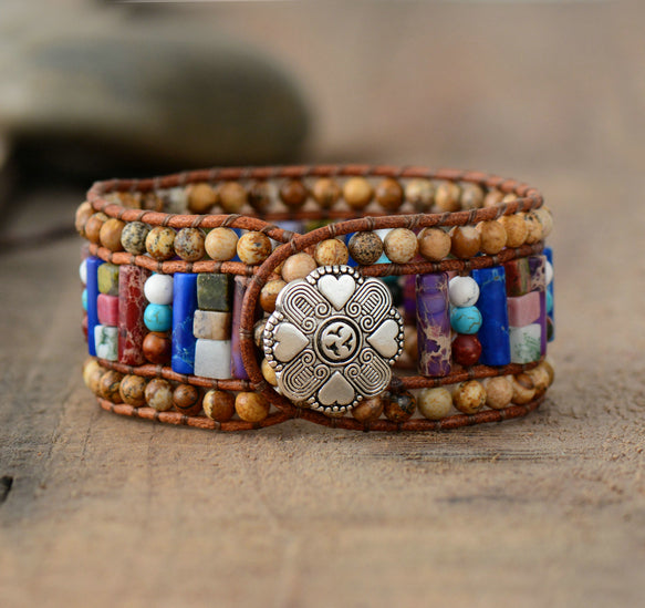 Flower Power Energy Bracelet