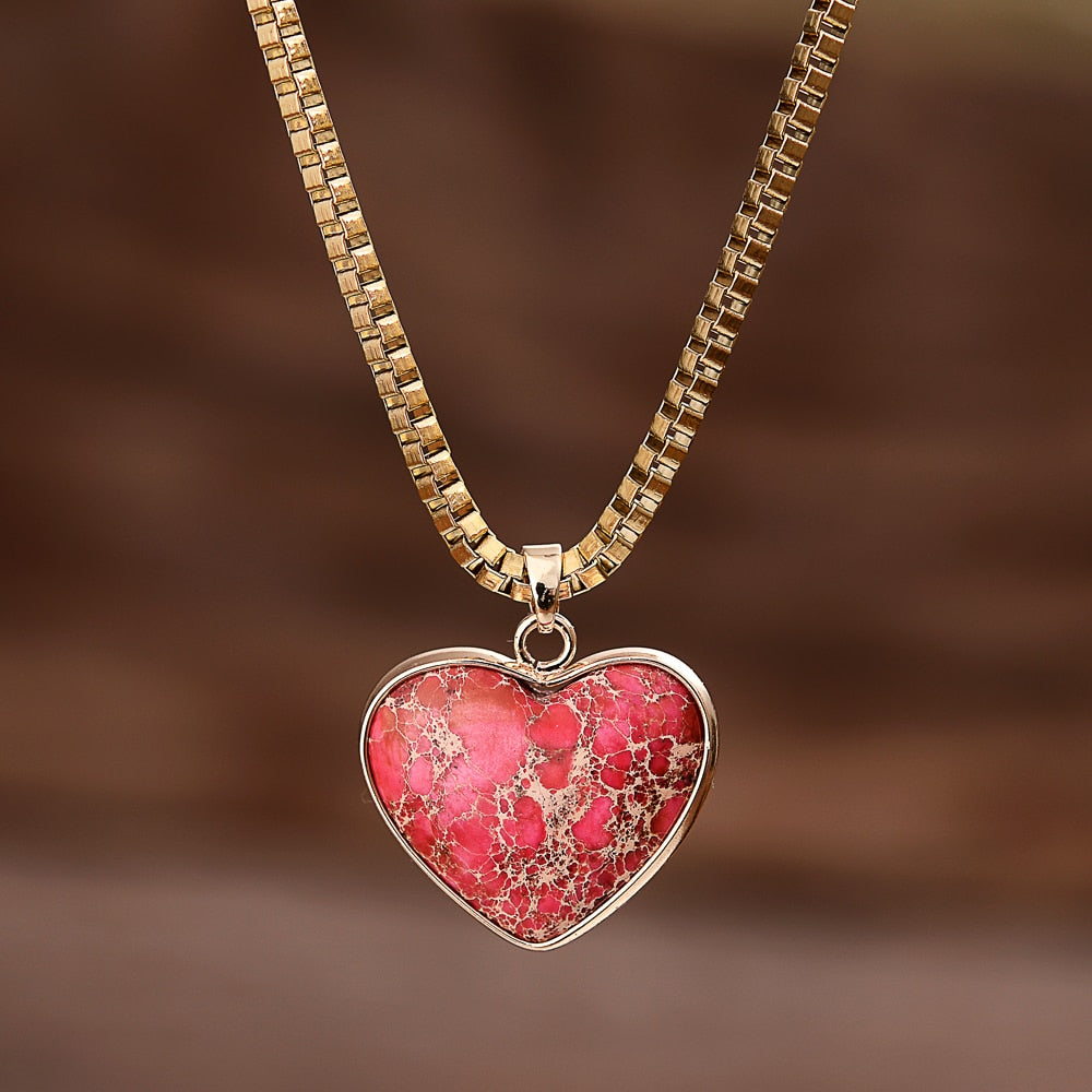 Regalite Heart Luxury Necklace