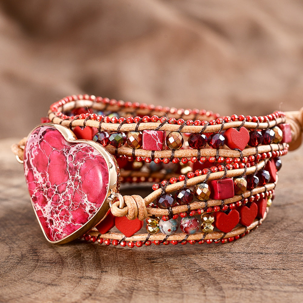 Regalite Heart Luxury Wrap Bracelet