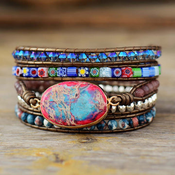 Free-Spirited Goddess Protection Wrap Bracelet
