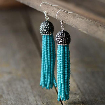 Boho Seed Beads Earrings