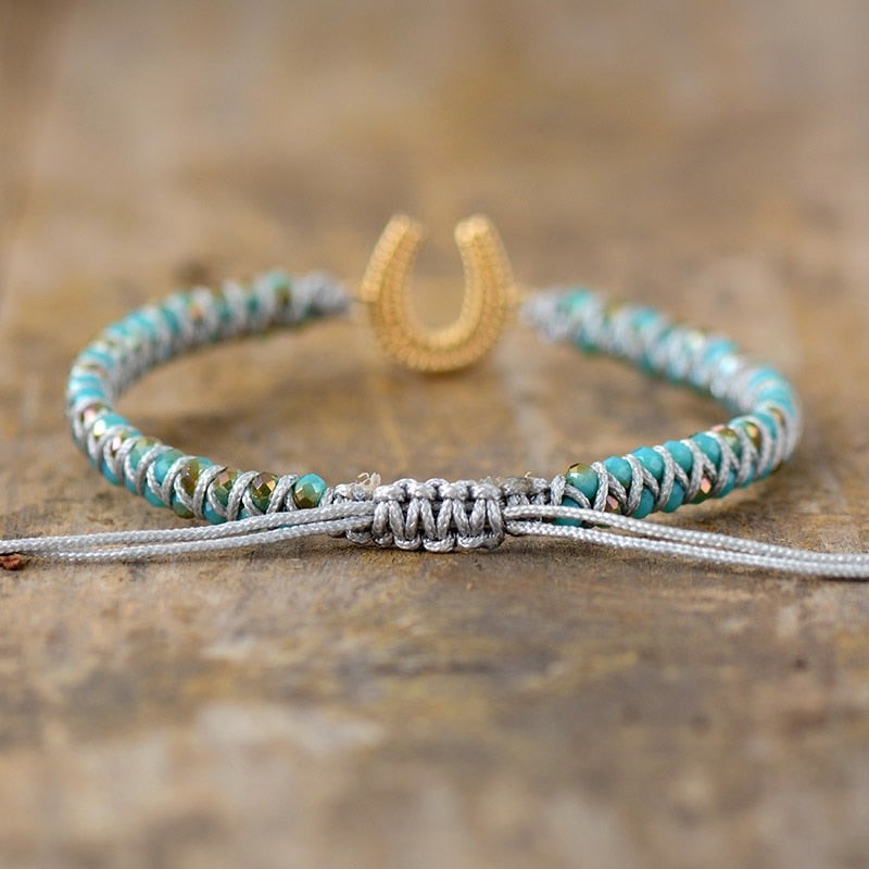 Lucky Horseshoe Energy Bracelet