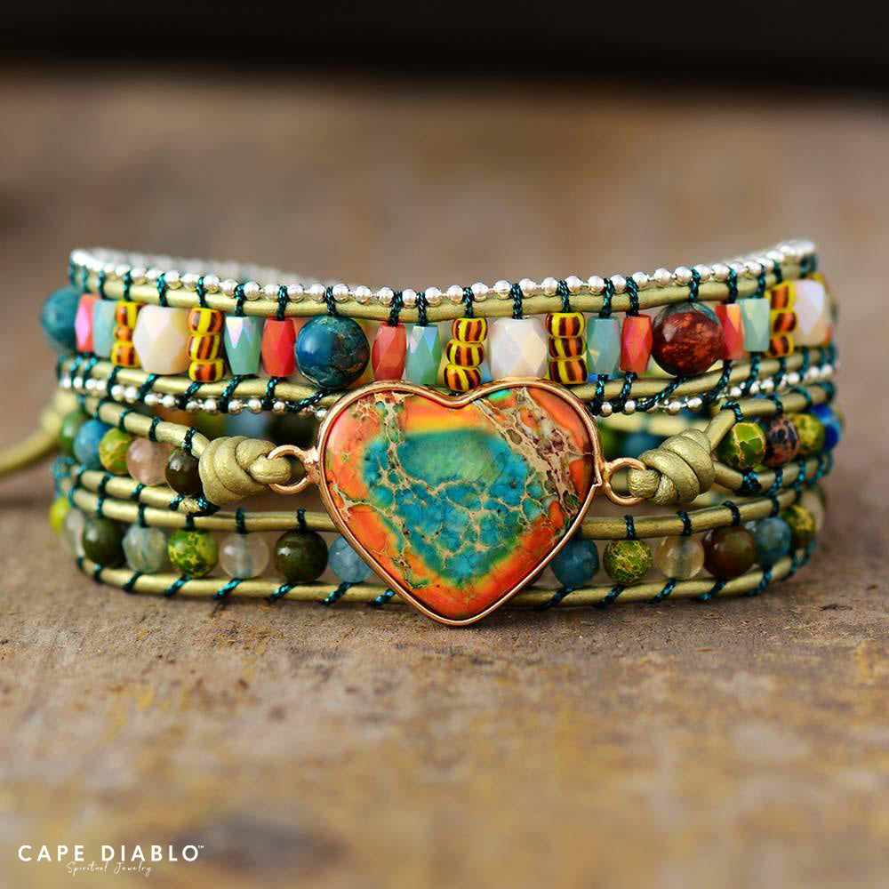 Transcendental Love Protection Wrap Bracelet