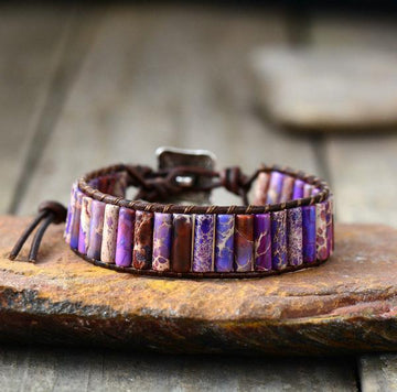 Purple Dream Tube Bracelet