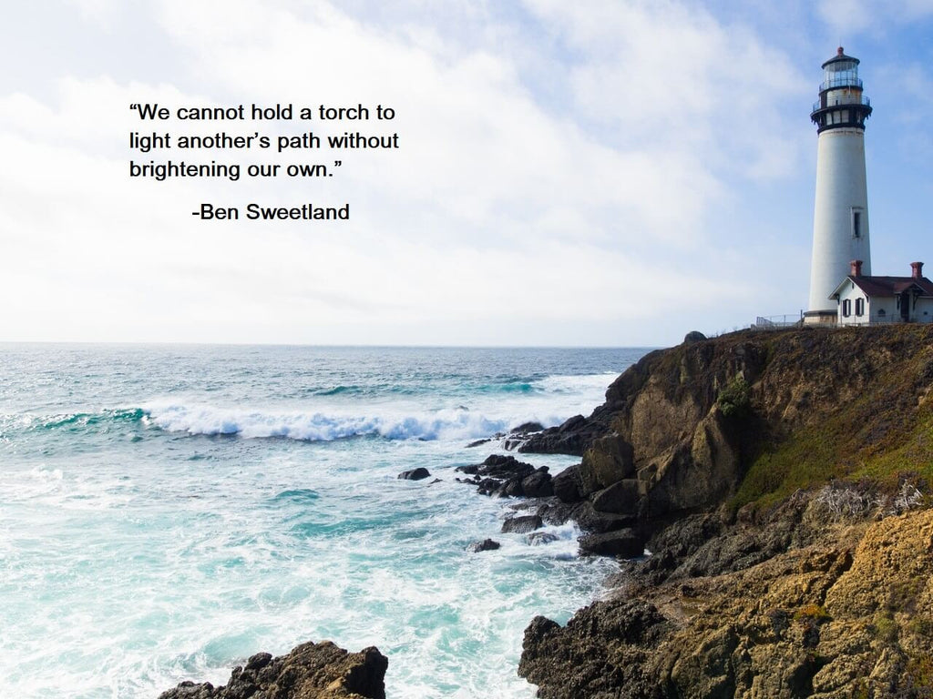 lighthouse beach quote