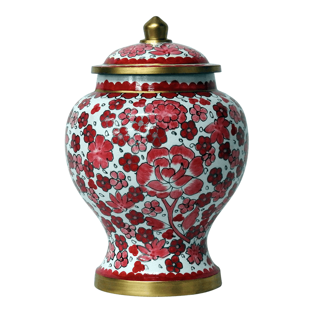 Pink lily cloisonne cremation urn safe passage urns pink lily cloisonne cremation urn solutioingenieria Image collections