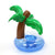 PALM TREE INFLATABLE CUPHOLDER