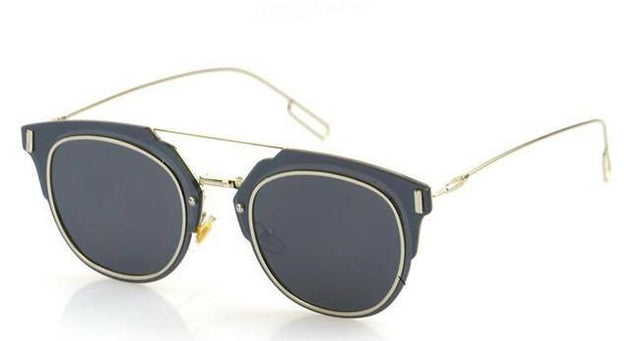 MIRROR GLASS SPEC SUNGLASSES - Pamperpal