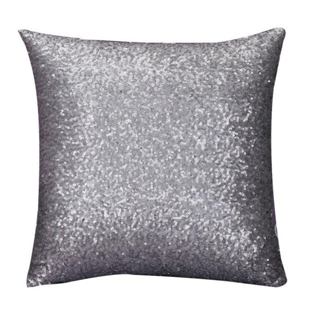 GLITTER SEQUINS PILLOWCASE COVER - Pamperpal