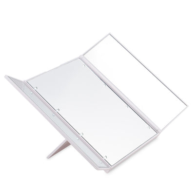 FOLDABLE LED VANITY MIRROR - Pamperpal