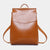 MINIMALISTIC PU LEATHER BACKPACK