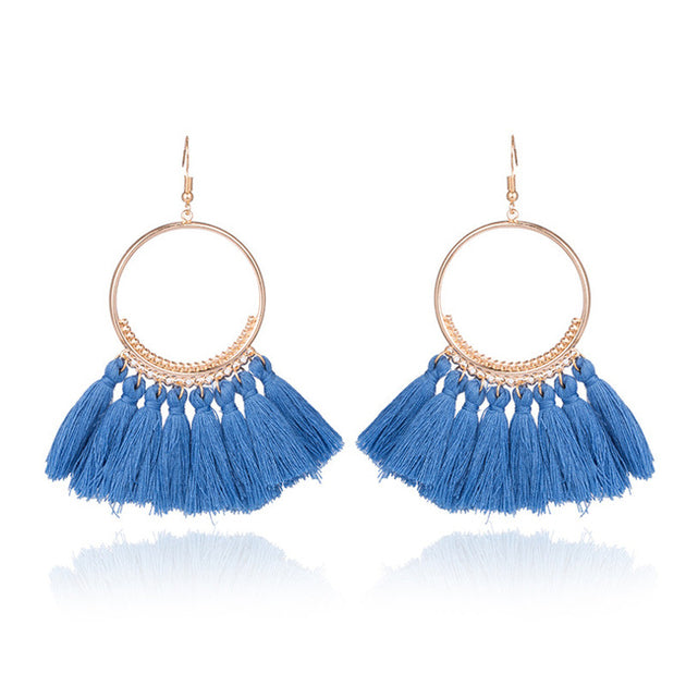 BOHO TASSEL EARRINGS - Pamperpal