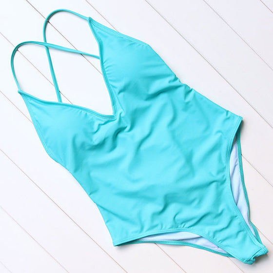SERENA BANDAGE ONE PIECE SWIMSUIT - Pamperpal