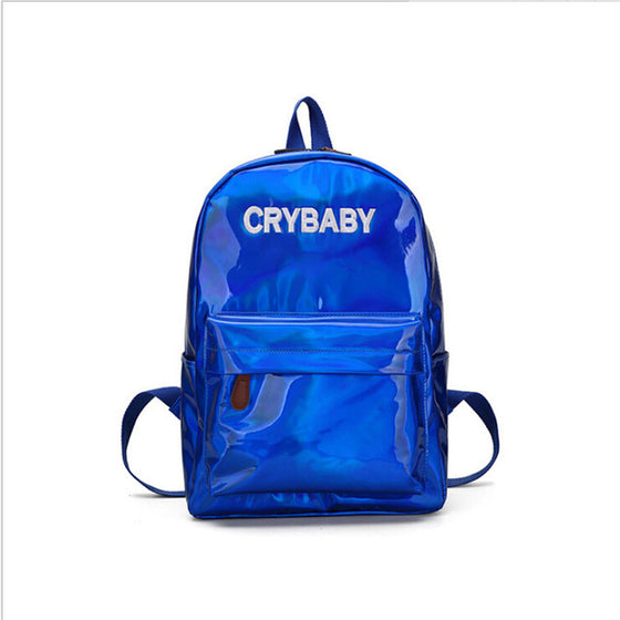 HOLOGRAPHIC CRYBABY BACKPACK - Pamperpal