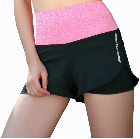 High Weist Yoga Compression Shorts