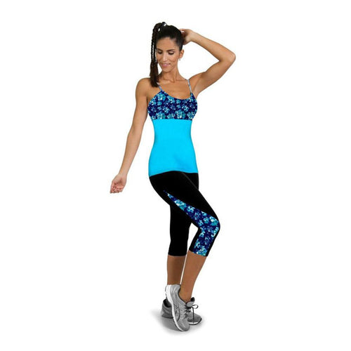 Full Length Printed Yoga Pants/Leggings