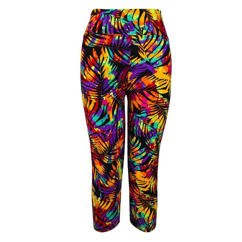 Full Length Printed Yoga Pants