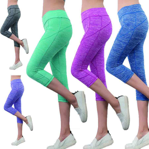 3/4 -Full Length Printed Yoga Pants/Leggings