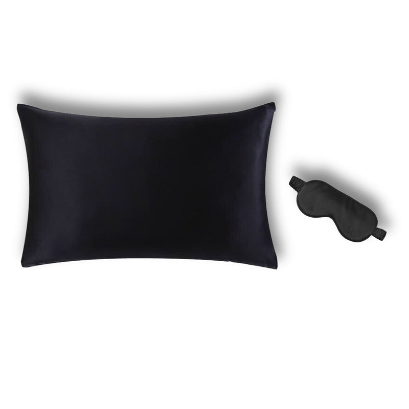 Beautyfy Me 100% Silk Pillowcase and Eye Mask combo