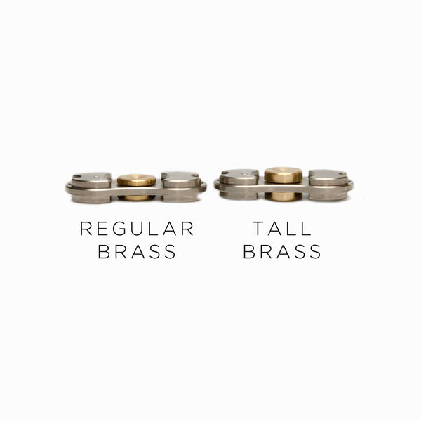 Torqbar® Tall C360 Brass Button - BUBRTL