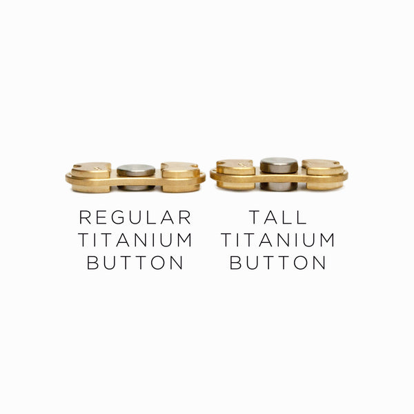 Torqbar® Tall CP2 Titanium Button - BUTITL