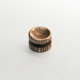 Torqbar® Deep Dish Mokume Button