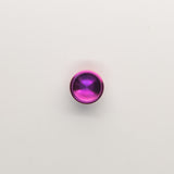 Torqbar® Deep Dish CP2 Titanium Button Anodized