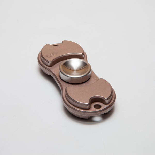 Torqbar® Solid Body CW75 Tungsten Copper Bead Blasted and Tumbled with 303 Stainless Steel Machine Finish Deep Dish Buttons