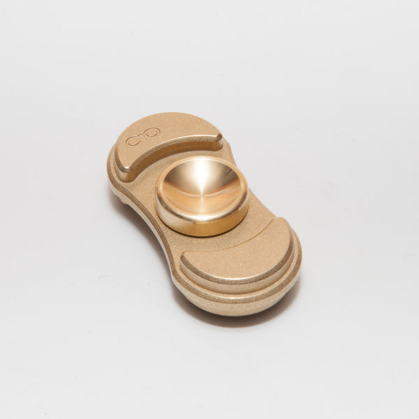 Torqbar® Luna V2 C360 Brass with Brass Machine Finish Deep Dish Buttons