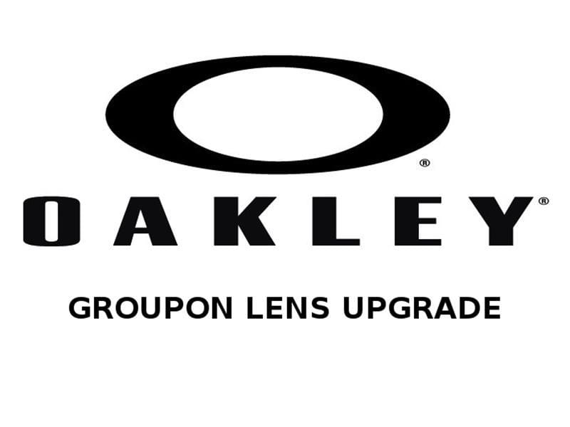 Oakley Groupon lens upgrade All styles