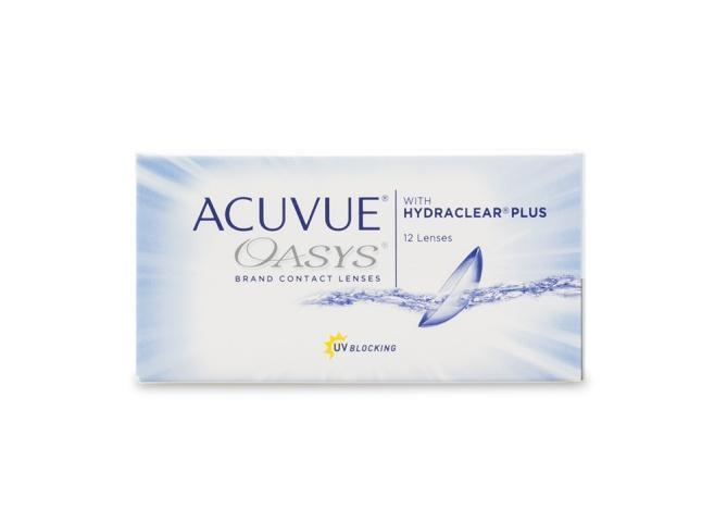 Acuvue Oasys Brand with Hydraclear Plus 12 pack