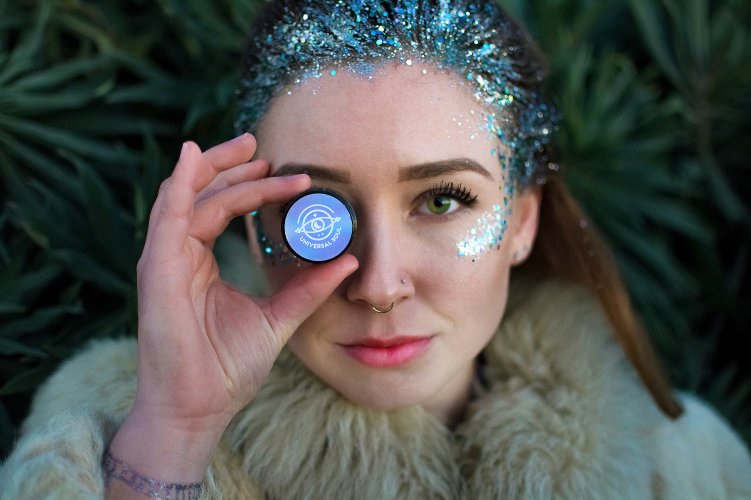 Find biodegradable glitter here. Universal Soul glitter shop.