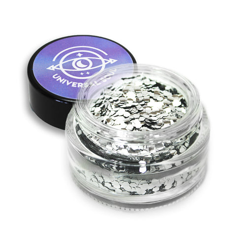 Silver Slayer • Seriously Chunky Biodegradable Glitter