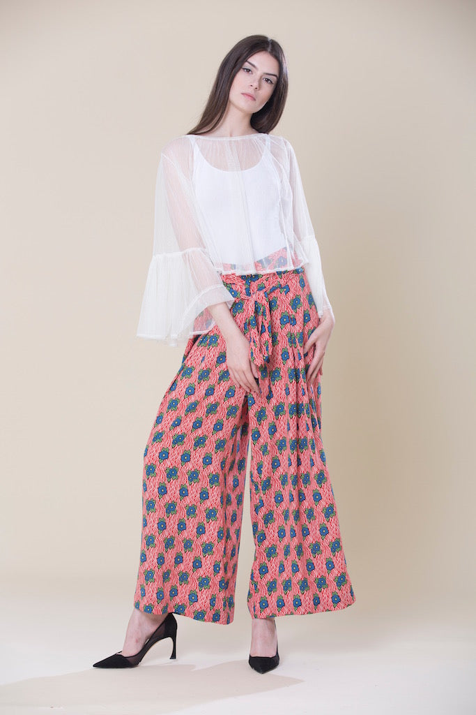 Co-ords Bell Sleeve Top And Culotte