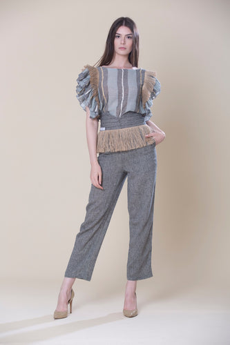 Co-ords Top And High Waisted Trouser