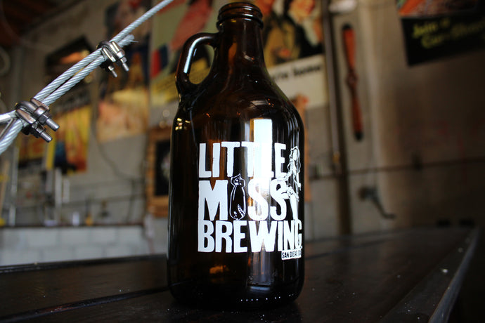 64oz Growler of Norma Jean Belgian Blonde