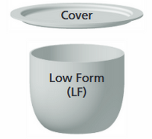 Inconel Crucibles - Low Form - 15 mL to 1500 mL