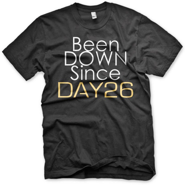 Day 26 Anniversary T-Shirt (Black)