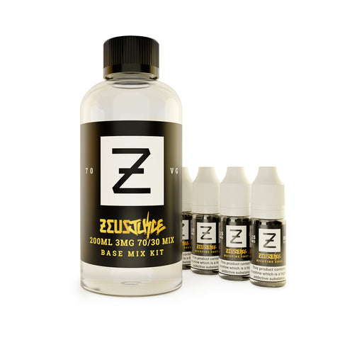 Just Add Bundle (200ml) - Zeus Juice DIY
