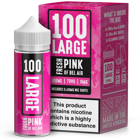 Fresh Pink Of Bel Air - 100 Large