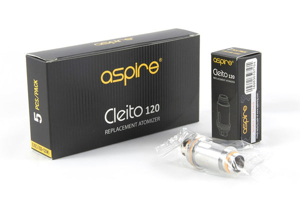 Aspire Cleito 120 Coils - Pack of 5