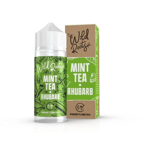 Mint Tea + Rhubarb - Wild Roots