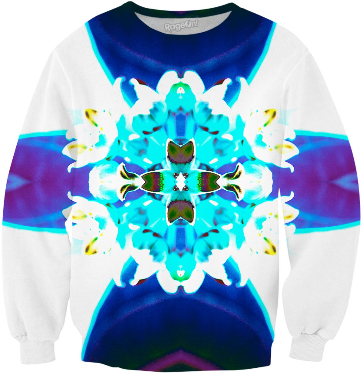 Blue Flower Reflect 25 - TShirtsRUS.co