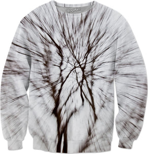 Abstract Snow Tree 1 Sweatshirt - TShirtsRUS.co