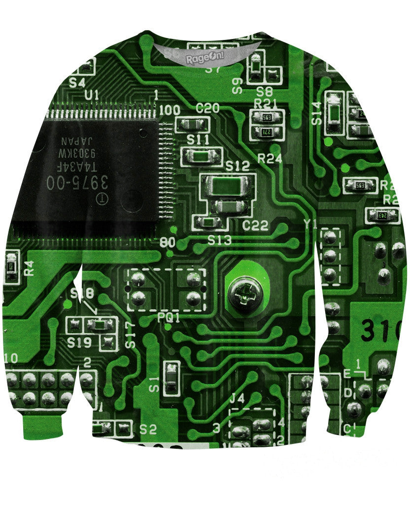 Circuit Board Sweatshirt - TShirtsRUS.co