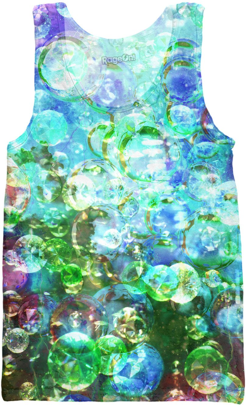 Bubbles Galore 7  Tank Top - TShirtsRUS.co