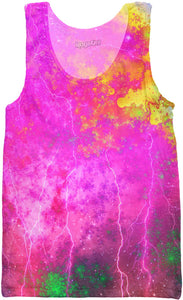 Blue And Pink Prophecy Tank Top - TShirtsRUS.co